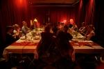 Den allra första Middagsbjudningen skedde under Högkvarterets allra sista vecka på Närkesgatan 8, Stockholm